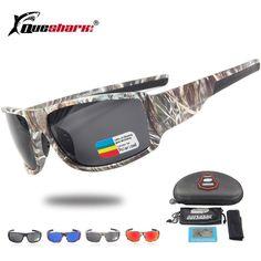 2a27ac791fc Queshark Tactical Camouflage Polarized Fishing Sunglasses Climbing Running  Ski Glasses Camo Sport Glasses Fishing Eyewear.