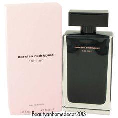 Narciso Rodriguez by Narciso Rodriguez 3.3 oz EDT Spray for Women NIB #NarcisoRodriguez