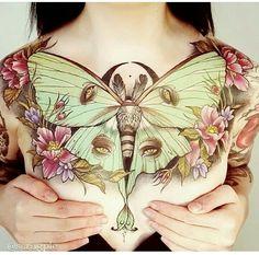 Stunning chest piece