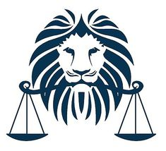 Similar to this law firm logo ... as a Tattoo representing my sons' astrological signs - Leo and libra