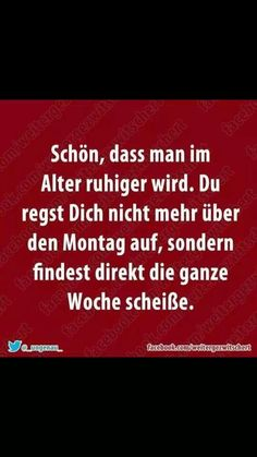 so in etwa. True Quotes, Words Quotes, Funny Quotes, Sayings, Weekday Quotes, German Quotes, Susa, Clever Quotes, Funny Picture Quotes