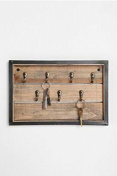 Reclaimed Wood Key Hook