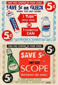 vintage coupons - Google Search