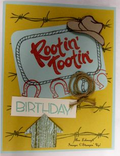 Yee Haw, new arrival from Stampin' Up!