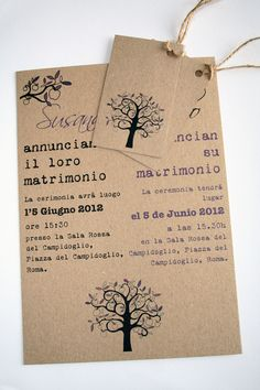 Bilingual wedding invitations expat