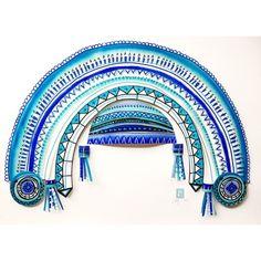 Merci Perci painted headpiece Headpiece, Wonderland, Fantasy, Explore, Headdress, Fantasy Books, Fantasia, Exploring