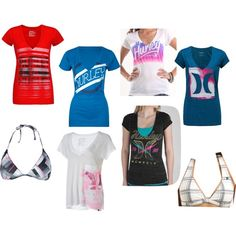 A fashion look from June 2012 featuring heather t shirt, cotton tees and v neck tee. Browse and shop related looks. Hurley, Shoe Bag, Clothes, Collection, Shopping, Design, Women, Fashion, Outfits