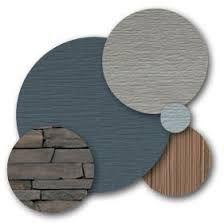 Image result for slate blue modern house