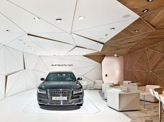 "Audi IAA Frankfurt Motor Show 2015 - ""the power of four"" Bar Design, Design Studio, Booth Design, Tile Design, Corporate Design, Retail Design, Commercial Design, Commercial Interiors, Modern Architecture"