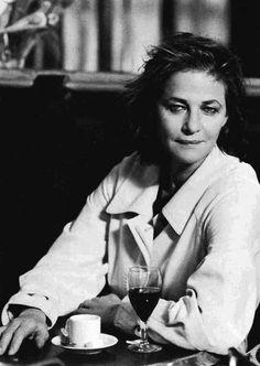 Charlotte Rampling by Peter Lindbergh