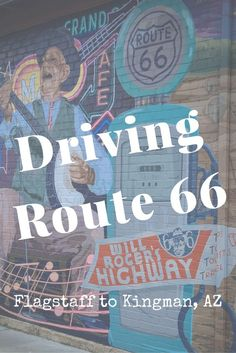 Driving Route 66 is a memorable experience in Arizona. The journey from Flagstaff to Kingman provides iconic landmarks stereotypical of Route Driving Route 66, Route 66 Road Trip, Travel Route, Travel Usa, Route 66 Arizona, Arizona Road Trip, Arizona Travel, Visit Arizona, Flagstaff Arizona