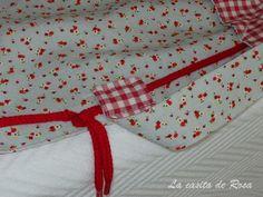 Aprende a confeccionar tu propia bolsa de costuras. Entra en mi blog La Casita de Rosa y descubre cómo. Es muy fácil.