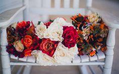 Lataa kuva häät kukkakimppuihin, ruusut, pionit, morsiuskimppu, häät