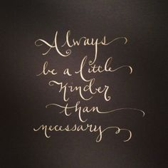 Calligraphy by The Calligraphy Girl