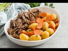 This Instant Pot Pot Roast recipe is an easy, comforting dinner that comes together so quickly in the pressure cooker! With tender veggies (not mushy!), a fall apart tender roast and seasoned gravy. Pressure Cooker Pot Roast, Instant Pot Pressure Cooker, Pressure Cooker Recipes, Pot Roast Recipes, Beef Recipes, Cooking Recipes, Healthy Recipes, Instant Pot Pot Roast, Instant Pot Dinner Recipes