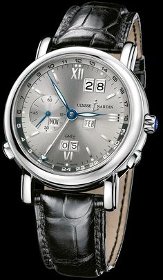 320-82/32 - GMT +/- Perpetual - Perpetual Calendars - Functional - Welcome to the Ulysse Nardin collection - Ulysse Nardin - Le Locle - Suisse - Swiss Mechanical Watch Manufacturer