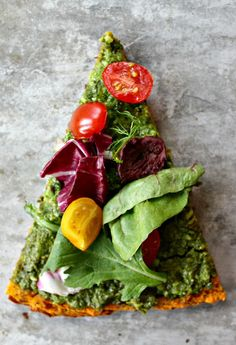 Incredible Pizza- Gluten free, vegan, and grain free crust!<====not even pizza Pizza Sans Gluten, Gluten Free Pizza, Vegan Pizza, Healthy Pizza, Vegetarian Pizza, Raw Food Recipes, Vegetarian Recipes, Cooking Recipes, Healthy Recipes