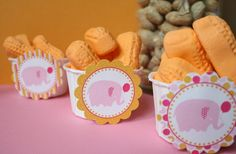 idea for baby shower with elephant theme!