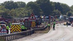 В Великобритании на авиашоу разбился истребитель | Head News
