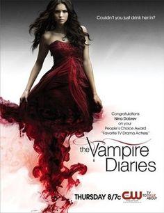 Elena promo poster of vampire diaries season 3