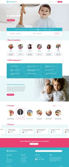 Homepage - Coparents