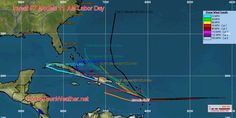 Invest 97 Remains Disorganized - Home Town Weather - Hurricane Central