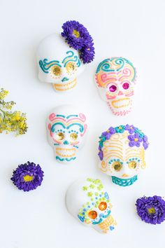 In Mexico, during the Day of the Dead celebrations, sugar skulls and sugar art has been a tradition since the 17th century. They're created from homemade suga
