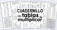 Cuadernillo con ejercicios de las Tablas de Multiplicar