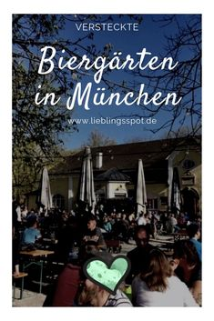 Mitten im Wohngebiet im wunderschönen Neuhausen/Gern im Westen von München liegt dieser kleine, aber feine Biergarten mit den besten Spareribs der Stadt! #münchen #biergarten #munich #citytrip