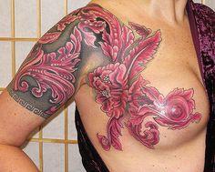 Tatuagem e Cicatriz - Muito além de uma cobertura    http://megantena.blogspot.com.br/2013/03/tatuagem-e-cicatriz-muito-alem-de-uma.html