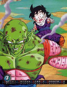 WallpaperCASA/Dragon Ball Z (Son Gohan, Piccolo)