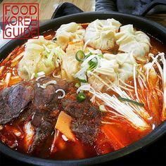 Kimchi Mandu Soup 김치만두전골
