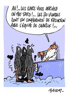 """""""@msoudais: La """"vengeance"""" des dessinateurs... L'esprit #CharlieHebdo n'est pas mort. """""""
