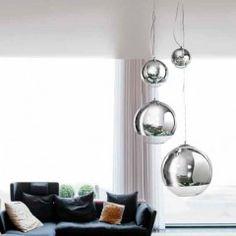 AZzardo Silver Ball Four - Závěsná svítidla
