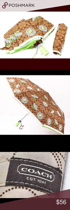NWTCOACH UMBRELLA Special collection design. Very PRETTY!  Price is firm. Thanks Coach Accessories Umbrellas