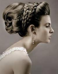 peinados de novia semirecogidos con trenzas y velo - Buscar con Google