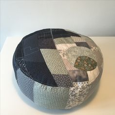 Deathstar pillow - first patchwork project.