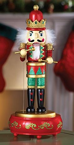 Musical Animated Nutcracker Holiday Decor >>> To view further for this item, visit the image link.