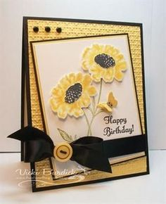 1000+ ideas about Flower Cards on Pinterest | Pressed Flower Art ...