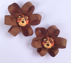 Raa Raa hair clips by Cre8iveCraft on Etsy, $5.00