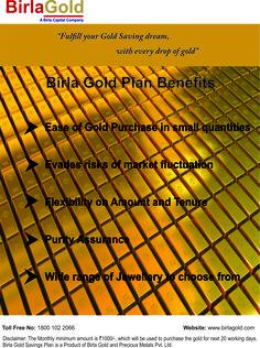 Birla Gold savings plan
