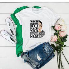 Notorious RBG Ruth Bader Ginsburg tshirt