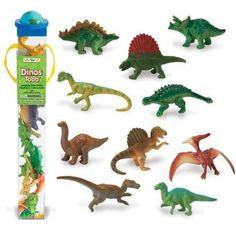 Este tubo incluye 12 miniaturas de dinosaurios de gran realismo, pintados a mano muy fieles a la realidad.  Vuelve al inicio de la era Mesozoica cuando los dinosaurios dominaban la tierra! Incluye un Apatosaurus, Triceratops, Iguanodon, Dilophosaurus, Stegosaurus, Ankylosaurus, Tiranosaurio, Dimetrodon, Velociraptor, Spinosaurus, Diplodocus, y un Pteranodon. Safari, Tuff Tray, Spinosaurus, Tatoos, Gun, Dinosaur Stuffed Animal, Space, Learning, Animals