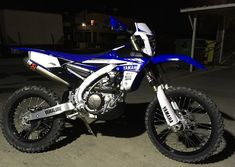 New Yamaha WR450F GP Model landed in Cyprus! Getting ready for Sunday's Enduro Adventure...