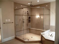 Best Complete Your Bathroom Shower With Lowes Shower Stall Design 17