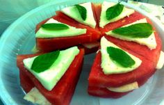 Batatee5 Pizza: a combination of the lovely Italian style of making Pizza with the astonishing Jordanian way of eating watermelon and cheese