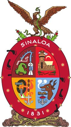 1830, Estado de Sinaloa (Sin.) Mexico, Capital: #Culiacán #Sinaloa (1695)