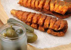 Photo Fish Recipes, Meat Recipes, Cooking Recipes, Healthy Recipes, Hungarian Cuisine, Hungarian Recipes, Hungarian Food, Food Humor, Fish Dishes