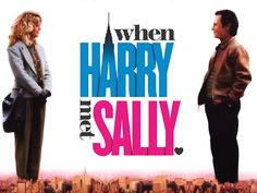 When Harry Met Sally. Wallpaper: When Harry Met Sally. 80s Movies, Great Movies, Romantic Movie Quotes, When Harry Met Sally, Kino Film, Movies Worth Watching, See Movie, Movie Wallpapers, Book Tv