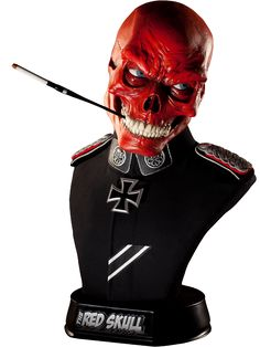 Red Skull Life-Size Bust